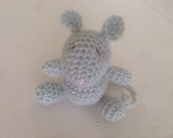 Newborn,mouse,lovey,buddy,crochet,photo prop,gift idea,mohair blend