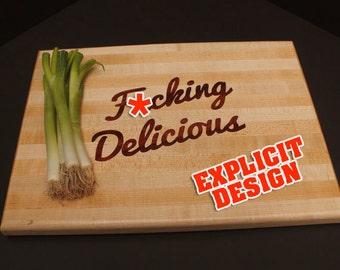 Funny cutting board | Etsy