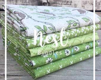 Nest Greens Bundle by Lella Boutique - Moda