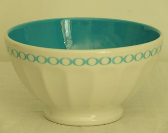 Vintage French BOWL Bowl old vintage coffee pudding