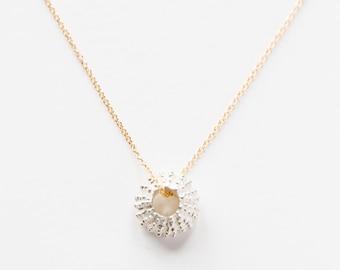 14kt Gold Filled & Sterling Silver Uni Necklace
