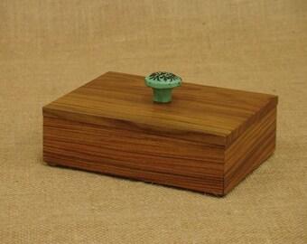 Exotic Wood Gift Box; Morado