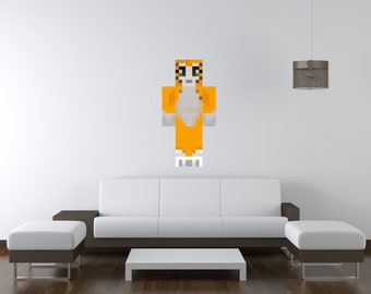 Stampy cat etsy stampy vinyl wall decal altavistaventures Image collections