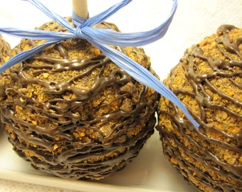 4-Pack Butterfinger Chocolate Caramel Apples
