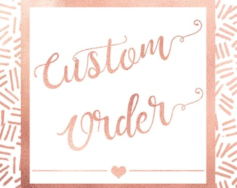 Add something custom to your order