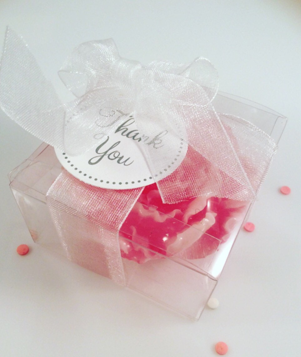 25 Peony Soaps/ Flower Soap Favors / Mother\'s Day /