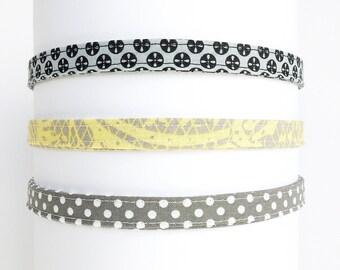 Headbands for Women. Adjustable Fabric Headbands. Gift for Her. Handmade Girls Headband. Thin Headbands. Fabric Headbands for Women.
