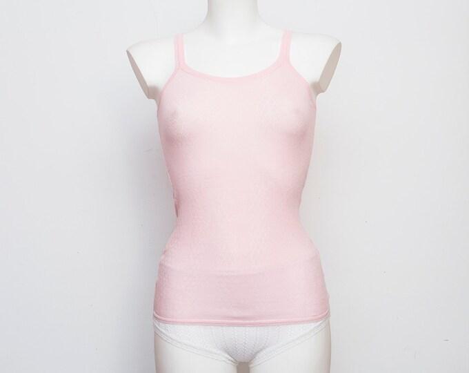 NOS Vintage tank pink underwear dead stock Vintage