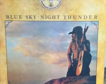 Michael Murphey Blue Sky Night Thunder 12 Inch Vinyl Record