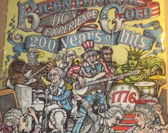 The DCA Experience Bicentennial Gold Sealed Vinyl Disco Funk Record Album