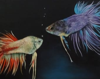 Sheila E. and Prince {beta fish}