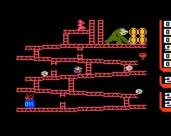 Intellivision Donkey Kong by Coleco Game