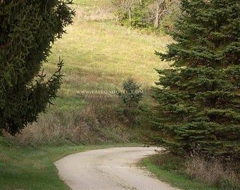 Gravel Road (Vertical)