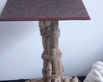 Italian driftwood lamp - handmade