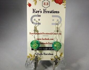 Handmade Wire Hook Earrings