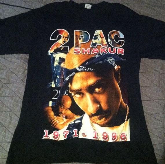 2pac t shirt vintage