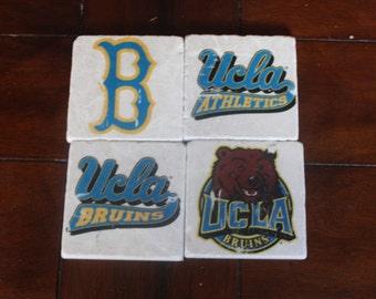 UCLA Marble Coasters
