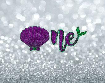one svg | mermaid one svg | first birthday svg | 1st birthday svg | mermaid 1 svg | mermaid party svg | birthday girl svg | 1 svg | svg file