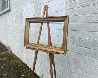 Floor Easel, Vintage Art Easel, Painting Easel, Artist Easel, Vintage Art Supplies, Wood Easel, Wooden Easel, Easel Stand, Display Easel