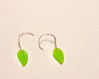 Spring Leaf Earrings
