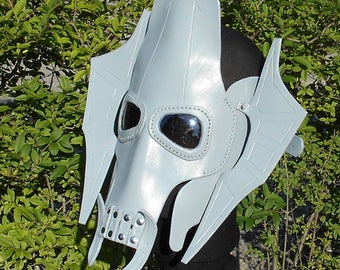Made To Order Leather Mask Sci Fi General Grievous Rendition Star Wars Inspired