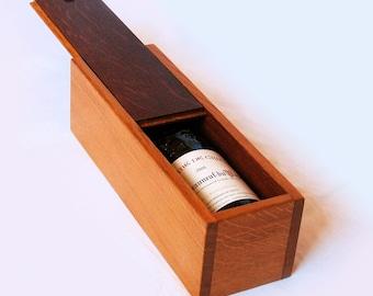 Niagara, stylish wine gift box, recycled oak wine barrel