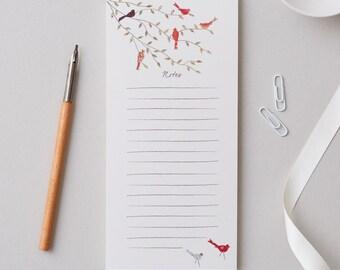 Birds on a Branch Notepad