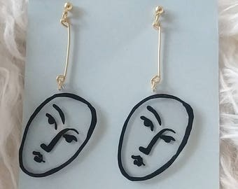 Matisse Inspired Drop Earring