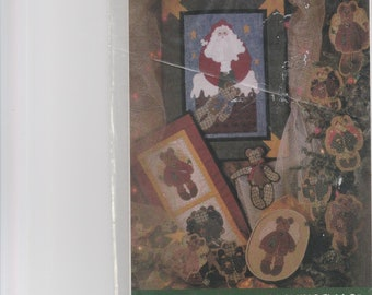 Fiber Mosiacs Patterns Beary Merry Christmas quilts, ornaments,toys