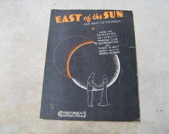 1935  sheet music ( east of the sun  )