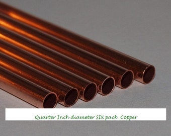 Quarter Inch COPPER 6-pack Tubing for Core Lining NOT Fits-Pxndxra size