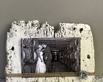 Barn Wood Picture Display