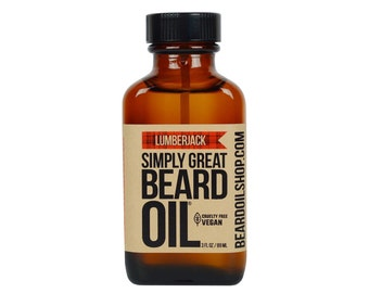 Beard Oil LUMBERJACK by Simply Great