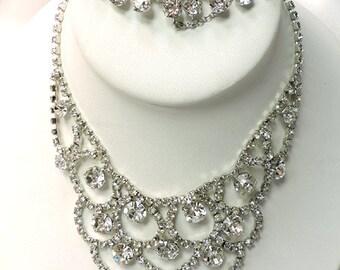 Vente... Collier Vintage EISENBERG... Bracelet en strass EISENBERG signé... Collectionneurs de bijoux Eisenberg