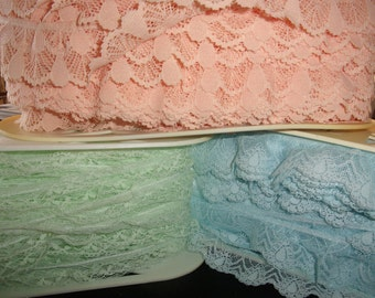 Ruffled Lace By the Unit (10 yards)