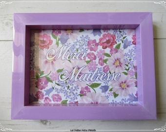 Thank you gift frame thank you teacher