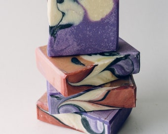 Lavender Amber Dream Handcrafted Hand and Body bar Soap