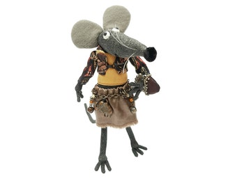 Mouse Soft Sculpture by Eglesmade