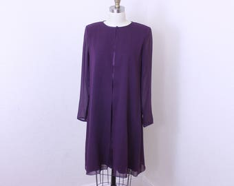 Kay Unger of New York silk dress long sleeves size 6