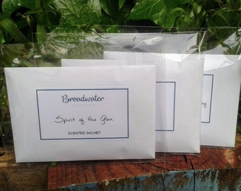 Scent sachet, drawer sachet, gorgeous scents - lavender, scottish, bluebells, strawberry - handmade, country, rustic