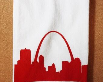 St. Louis Skyline Tea Towel