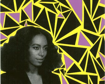 Solange Knowles Collage Print