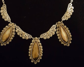 Antique Filigree Necklace
