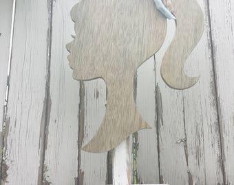 Display for Headbands   Wooden Mannequin   Headband Display   Headband Prop   Headband Stand   Photo Prop for Headbands   Silhouette  Rustic
