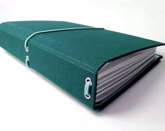 CitriDori A5 Travelers Notebook Hard Cover Refillable Journal, Bookdori, Midori, Fauxdori, Fabridori, Bullet Journal