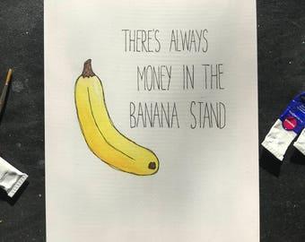 Arrested Banana