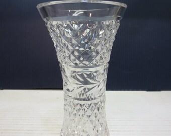"Waterford Crystal Glandore Flared Vase, 6"""