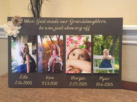Grandma Gift Frame Personalized Frame For Grandma Grammie Nana Mimi ...