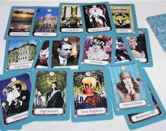Roaring 20s Kipper (in 1890s version) Fortune Telling Cards. Brand New. Self Published.