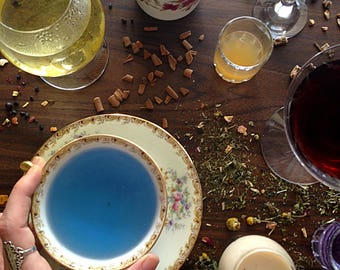 Do It Yourself HERBAL TEA KIT Bundle Tisane Simple Seasonal Infusions